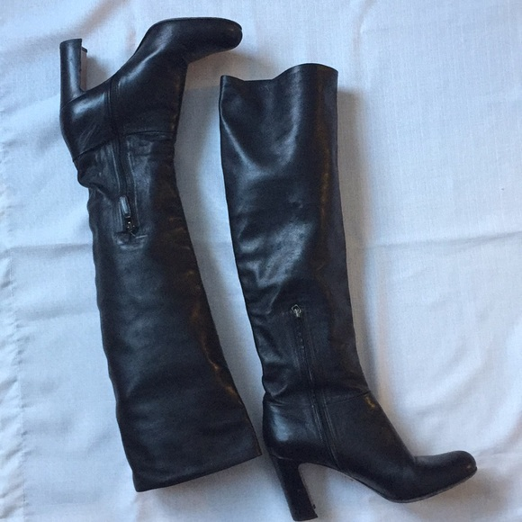 ce26522495d Prada knee boots